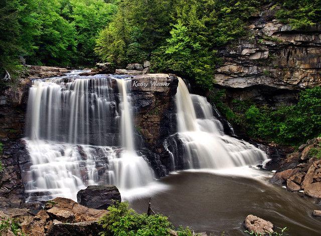 Black Water Falls Blackwater Falls State Park Blackwater Falls West Virginia Waterfalls