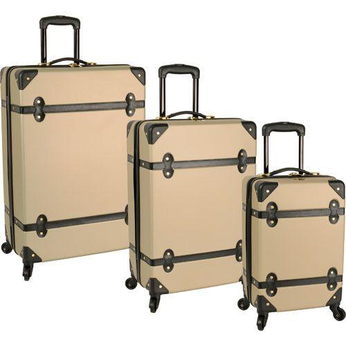 Diane von Furstenberg Saluti 3 Piece Hardside Spinner Luggage Set ...