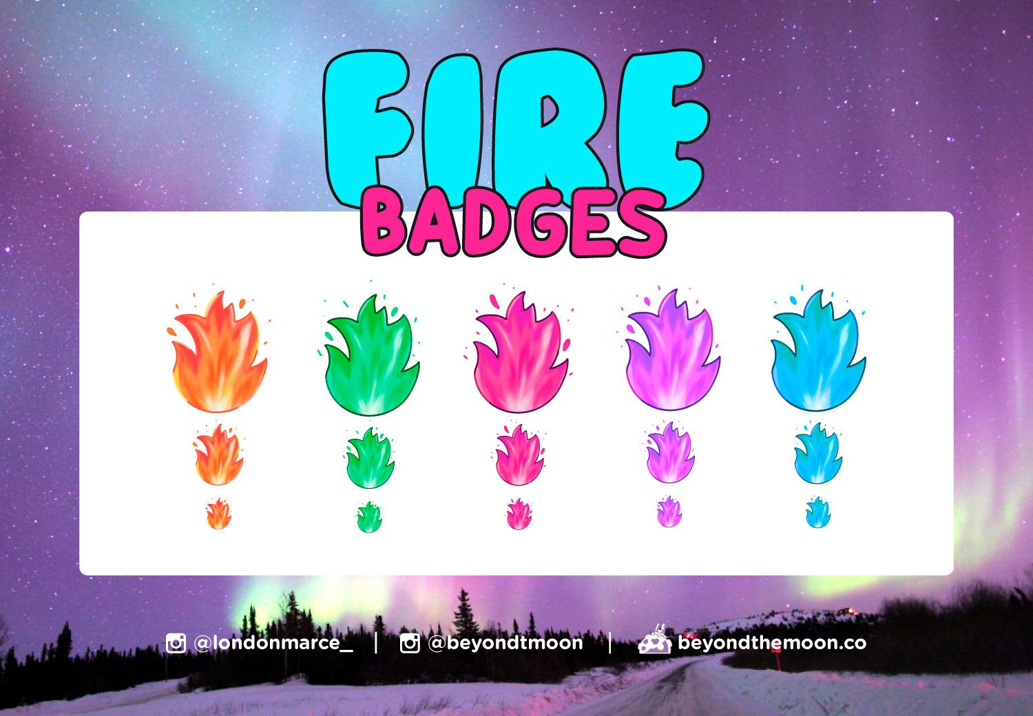 5 Sub or Bit Fire Badges for Twitch in 2020 Fire badge