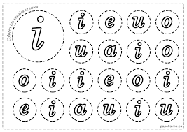 Dibujos De Las Vocales Para Imprimir Gratis Buscar Con Google Alphabet Activities Therapy Worksheets Spanish Teaching Resources