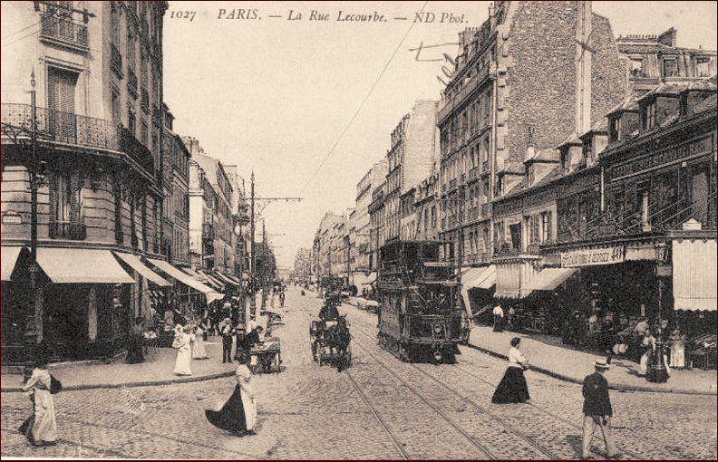 Rue Lecourbe Paris 75015 Avec Images Paris Rue De Paris