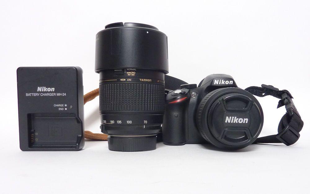 Nikon D3200 Nikon D3200 Lens And Accessories Nikond3200 Nikon Nikon D3200 18 55mm And Tamron 70 300mm Outfit Onl Nikon Dslr Camera Nikon 3200 Nikon D3200