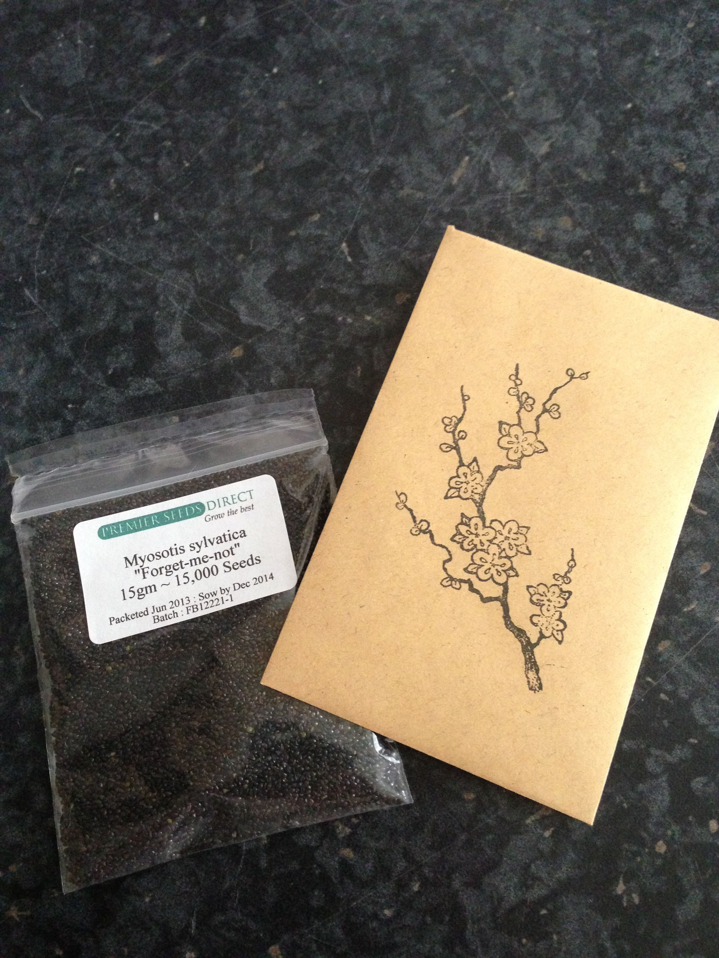 Forget Me Not Seeds Wedding Favours Bulk The 2 Packs Of 15 000