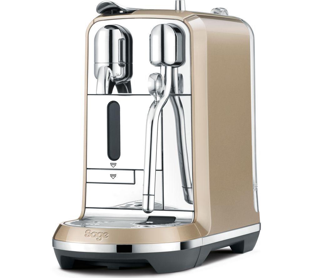 Buy a nespresso by sage creatista bne600rch coffee machine