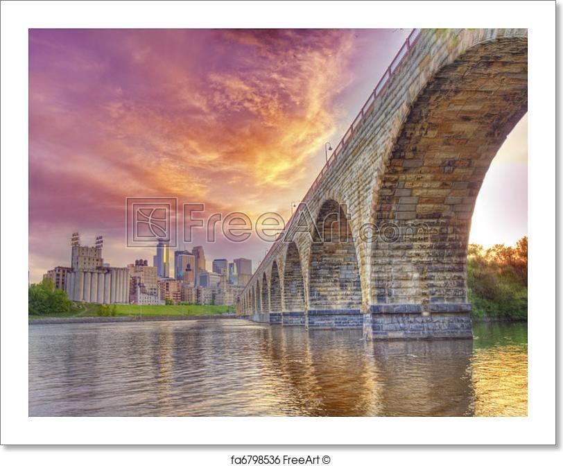 Free art print of stone arch bridge free art prints