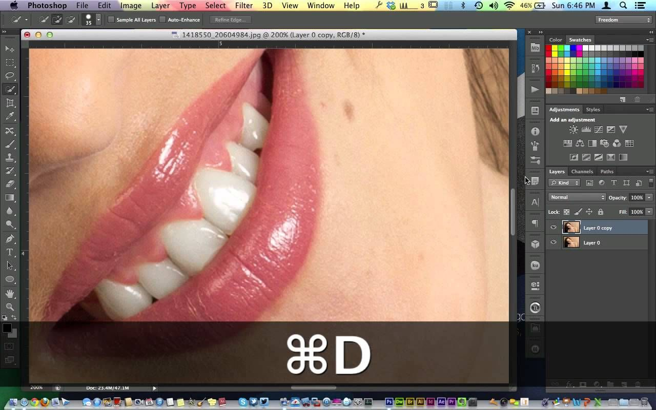 Hd How To Whiten Teeth In Photoshop Cs6 Tutorial For Beginner