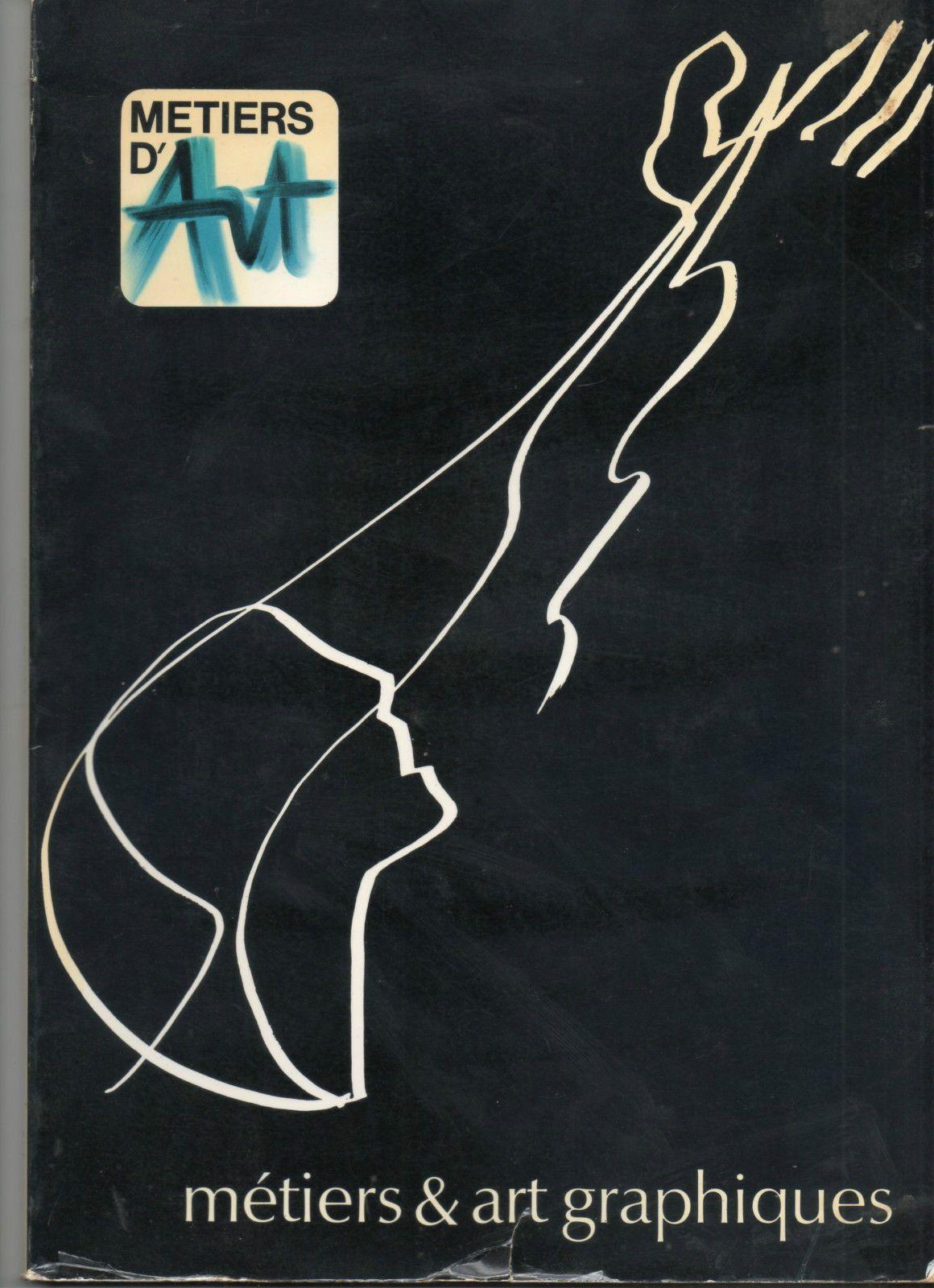 revue Métiers d'Art,n°7, 1979, graphisme, graphiste, Raymond Gid