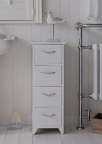 Narrow White Bathroom Drawers Bathroom Interior Design Rustic Bathroom Shelves Black And White Tiles Bathroom