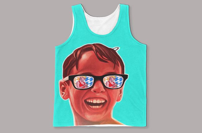 7cac2f4be8d07 This  Squints  Sandlot Tank Will Get That Hot Lifeguard s Attention ...