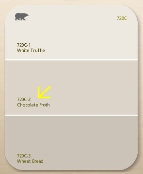 Off White Behr Paint Color