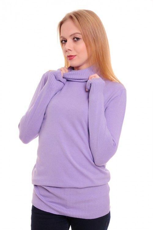 Туника А2176 Размеры: 46,48,50,52 Цвет: сиреневый Цена: 375 руб.  http://optom24.ru/tunika-a2176/