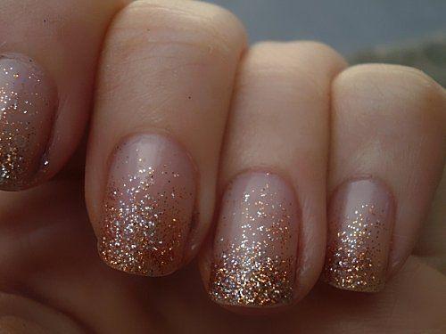48 Best Wedding Nail Art Design Ideas Wedding Day Nails Ombre Nails Glitter Glitter Gradient Nails