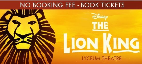 lion king musical show now playing at lyceum theatre