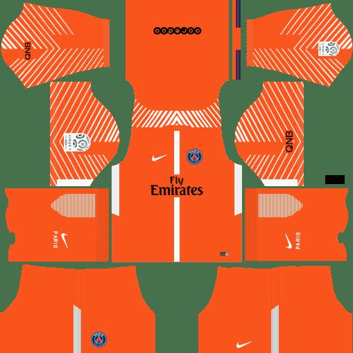 Goalkeeper Dream League Soccer Kits 2017 2018 Psg 512x512 Url Futebol Esportes Molduras