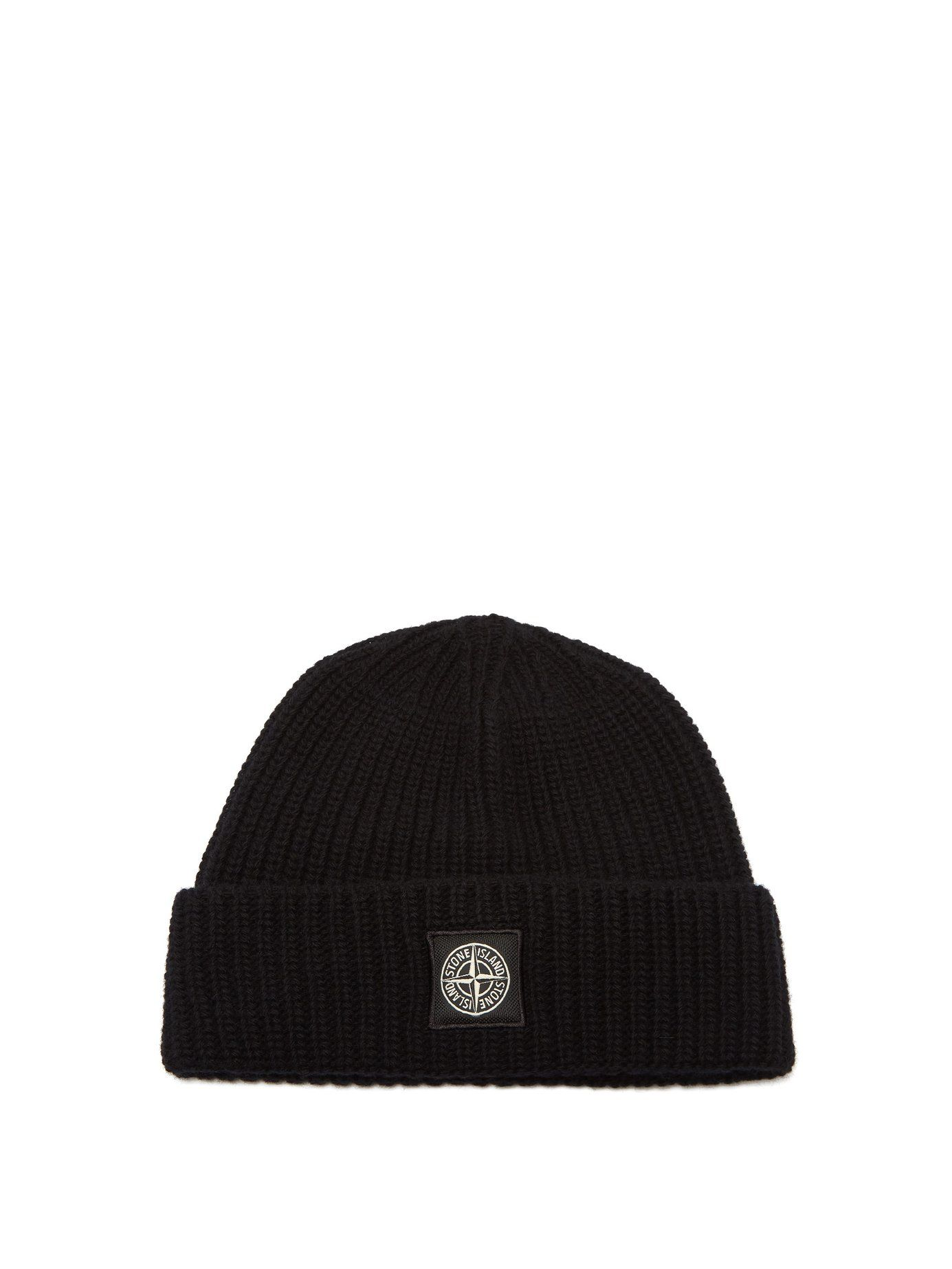 d5e744cea STONE ISLAND RIBBED-KNIT WOOL BEANIE HAT. #stoneisland # | Stone ...
