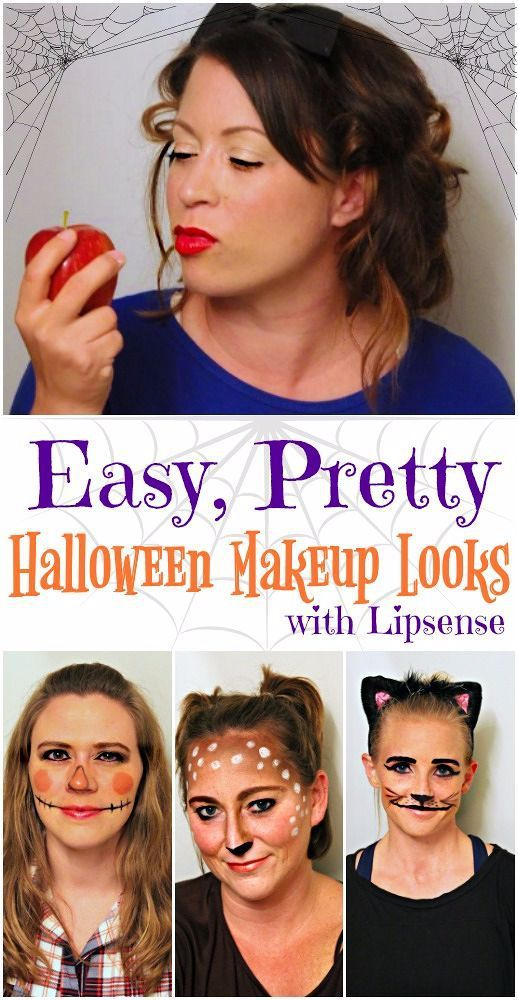 Easy and Pretty Halloween Makeup Ideas using Lipsense Pinterest - cute makeup ideas for halloween