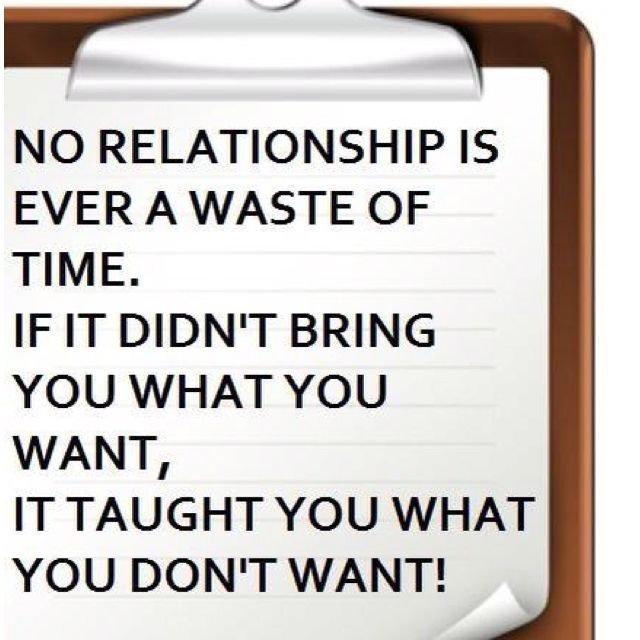I wish everyone had this outlook on relationships.