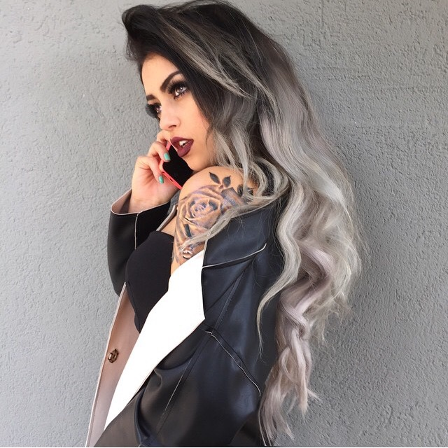 15 and Fun Grey Ombre Hairstyles (With images