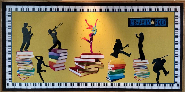 Summer Reading 2018 Bulletin Board Libraries Rock Summer