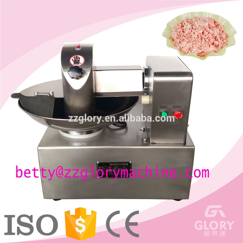 120l H Mini 8l Sausage Used Fish Chicken Meat Bowl Cutter Fish And Chicken Small Bowls Meat Pie