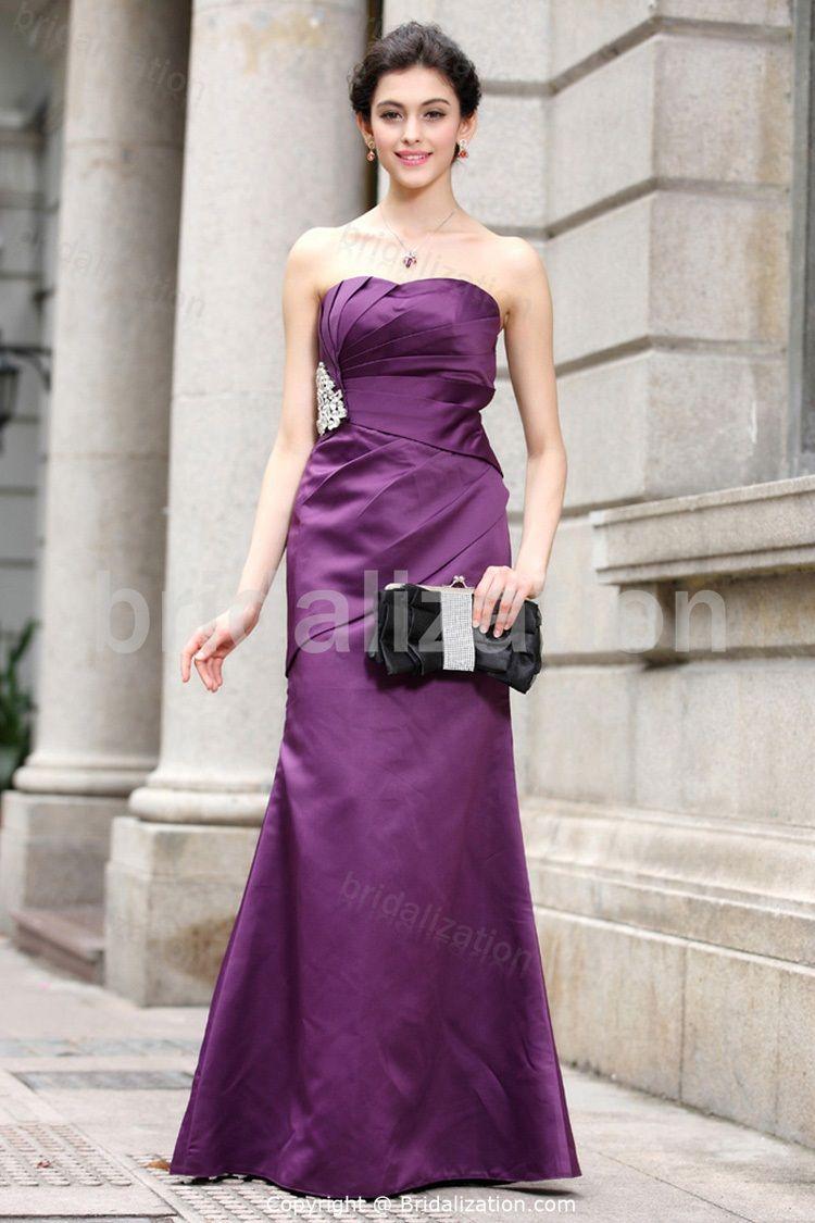 Sweetheart Plus Sizes Sleeveless Mermaid/ Trumpet Bridesmaid Dresses ...