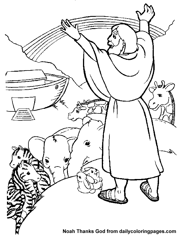 Noah's Ark Colouring Page Free Printable Coloring Pages Bible Rhpinterest: Bible Coloring Pages Noah At Baymontmadison.com