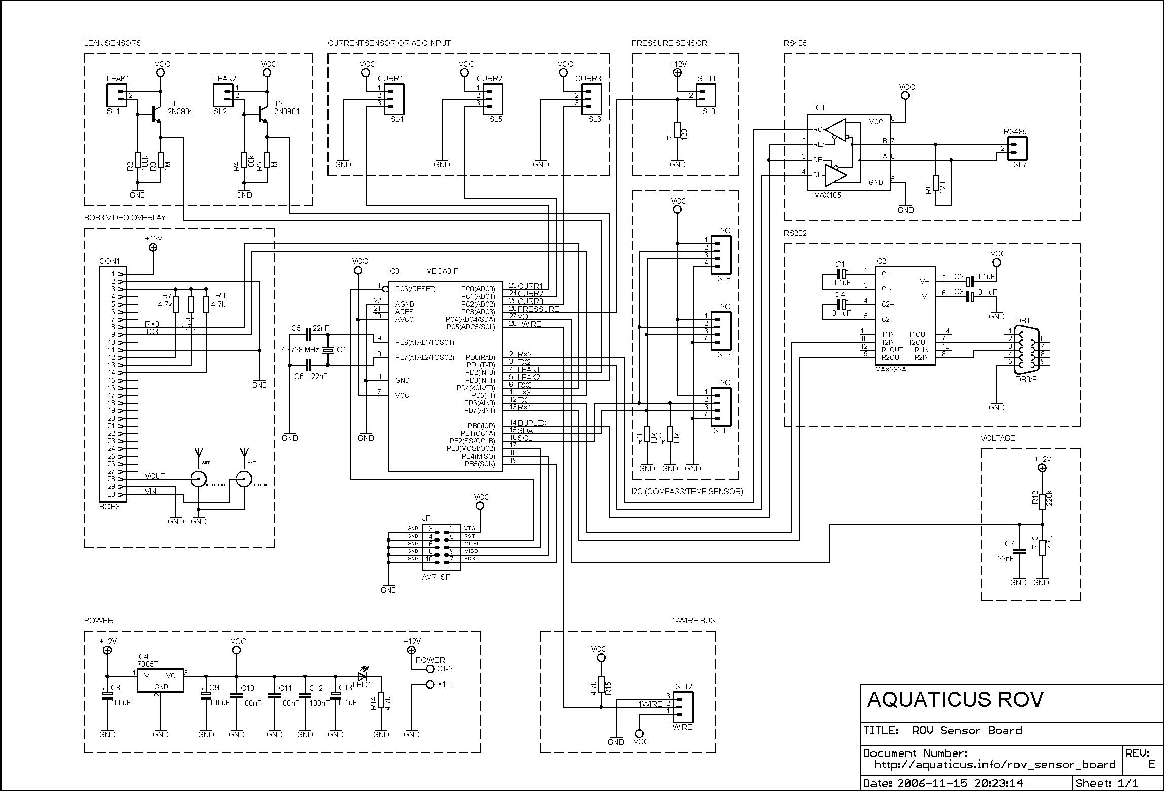 Rov Sensor Board