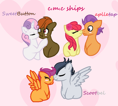 Mlp Fim Imageboard Image 1603859 Apple Bloom Artist Emilisweetie1 Button Mash Female Kissing Male Nuzzli My Little Pony Scootaloo Sweetie Belle Pony All ship children of this parent will be featured in a journal, and will be put in a poll for best pairing. pinterest