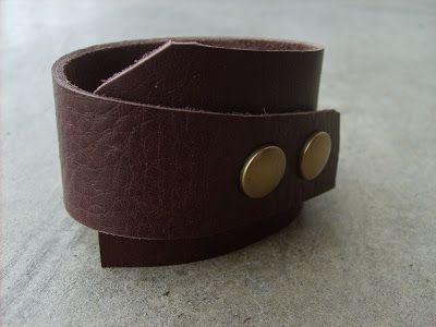 For Her Birthday Leather Cuff Stocking Stuffer For Him Christmas