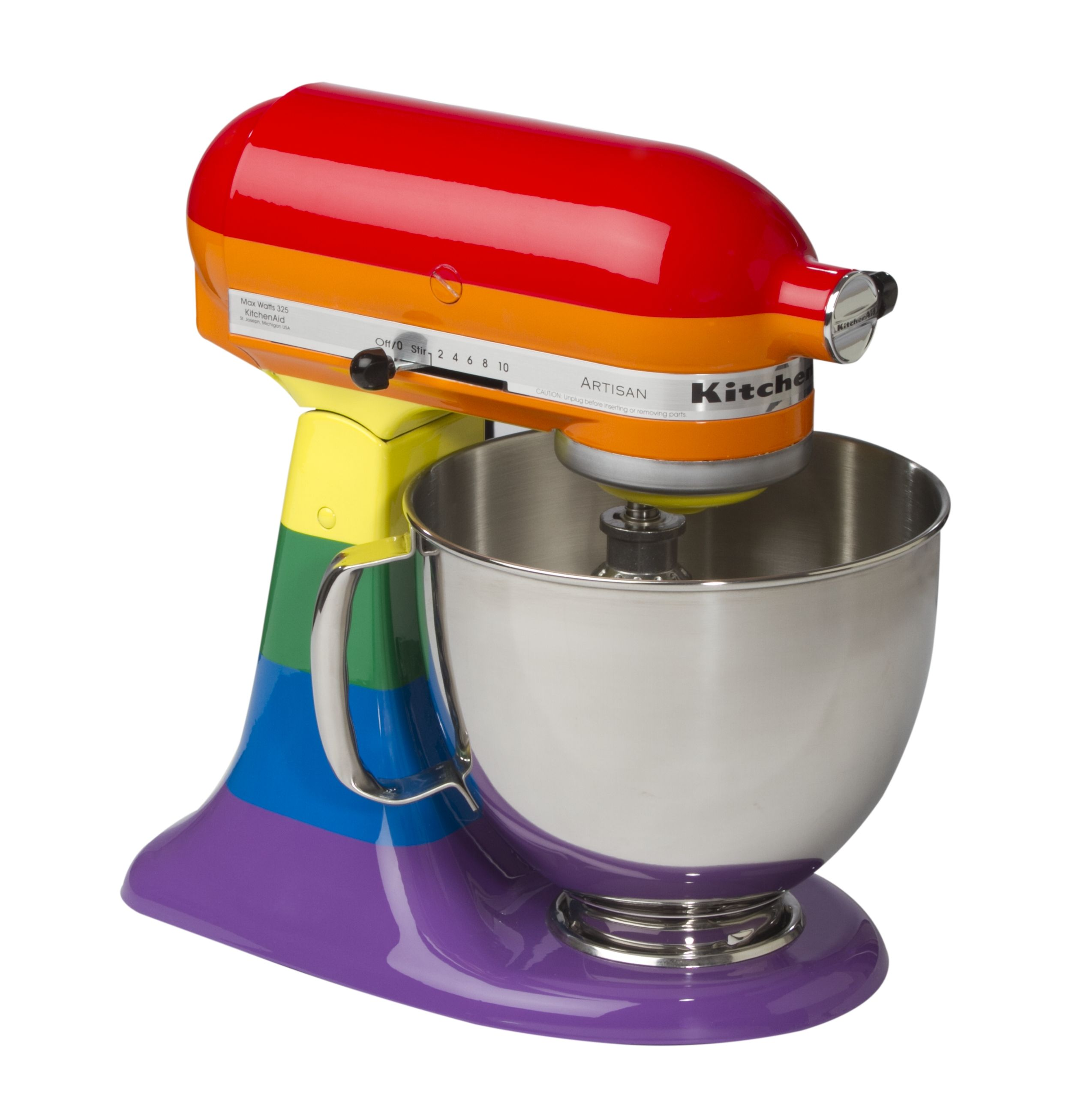 Libro De Recetas Kitchenaid Kitchenaid Rainbow Mixer Rainbows Pinterest Color