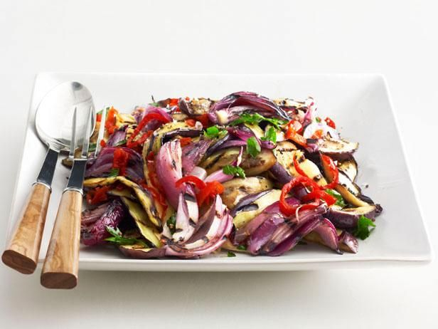 Grilled eggplant salad food network kitchen food network grilled eggplant salad food network kitchen food network forumfinder Image collections