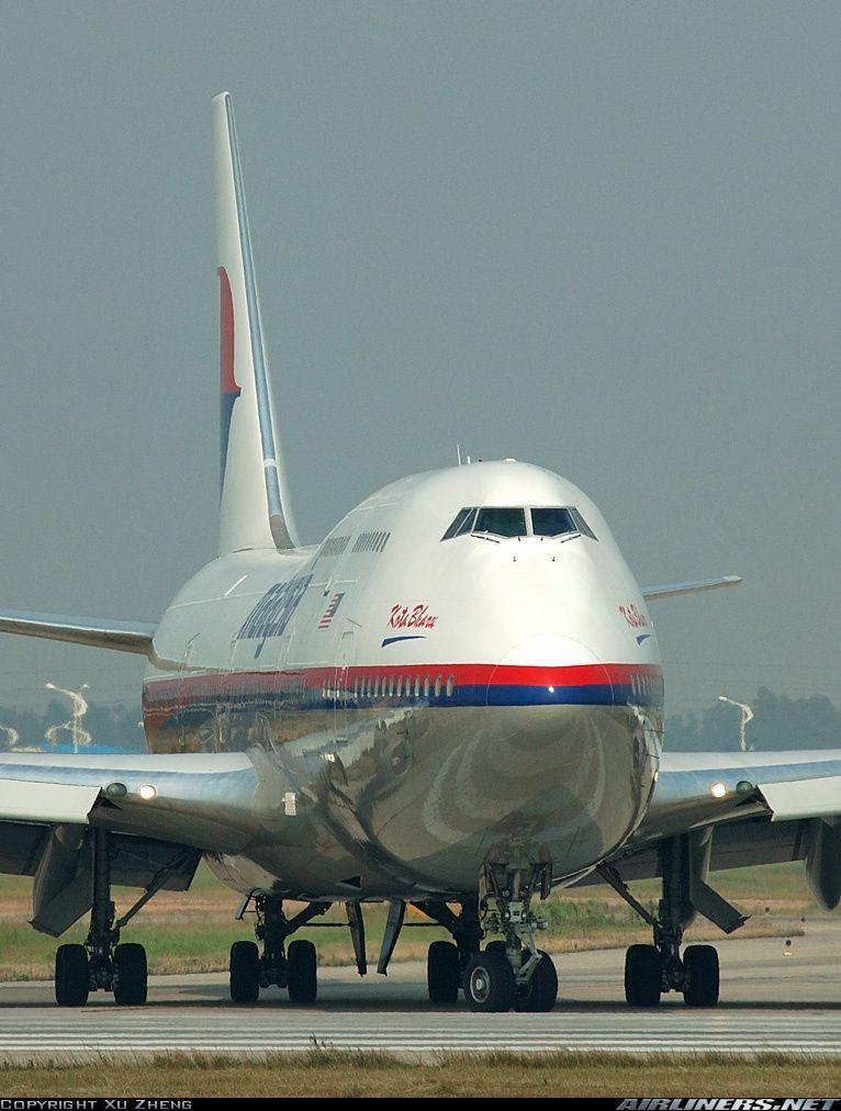 Boeing 747-4H6 vliegtuig