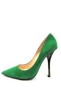 Jimmy Choo Shoe Green Pumps