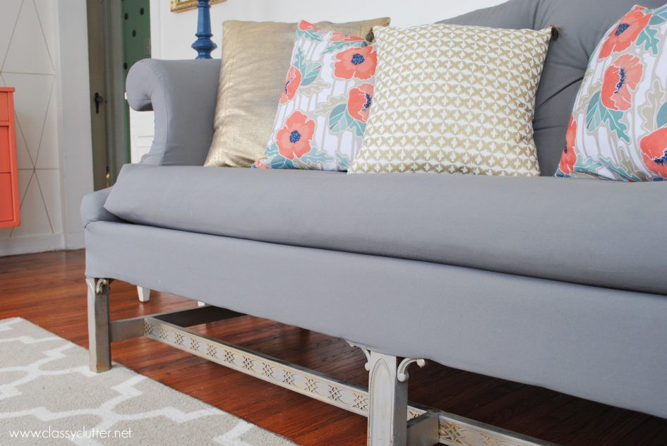 Furniture How To Upholster A Sofa With Stainless Steel Sofas And Some  Cushions And Carpets At