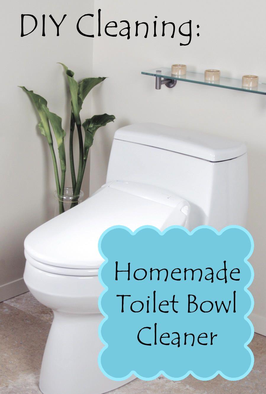 Diy Toilet Bowl Cleaner Pinterest Produit M Nager Recette