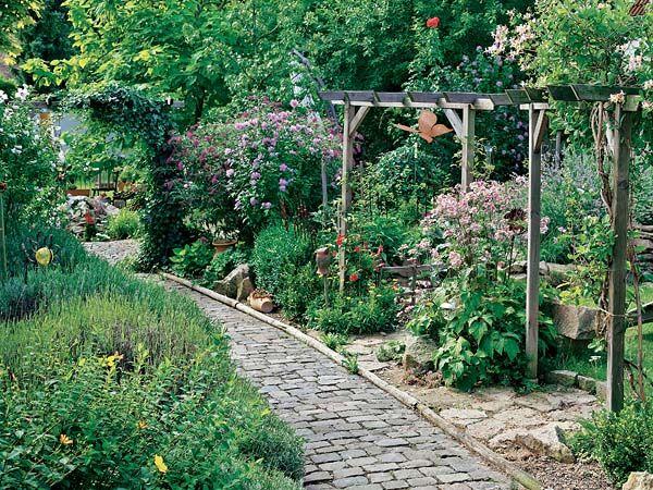 Deko-Ideen für den Naturgarten Naturgarten, Deko ideen und
