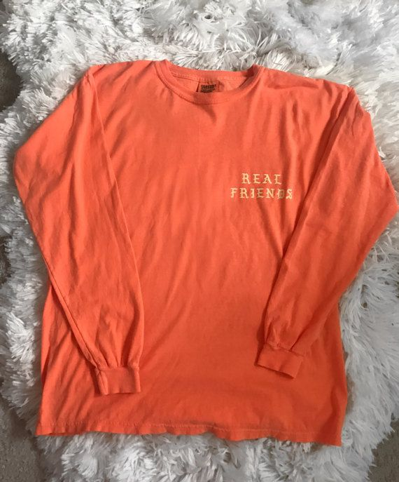 Real Friends Kanye West Yeezy Saint Pablo Tour Long Sleeve Merch Saint Pablo Merch Long Sleeve Tshirt Men Kanye Merch