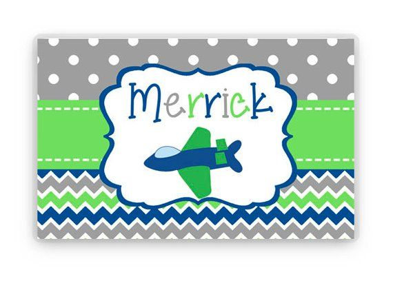 personalized placemat kids personalized