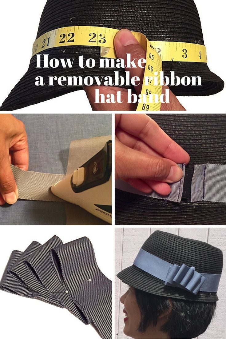 My Millinery Tutorials For Britex Fabrics C Sews Hat Band Millinery Sewing Blogs