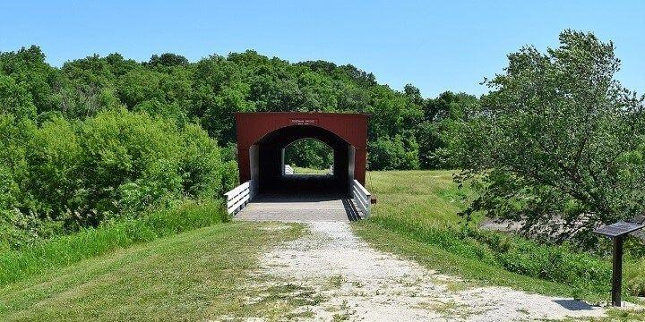 Bridges of Madison County, Iowa, USA