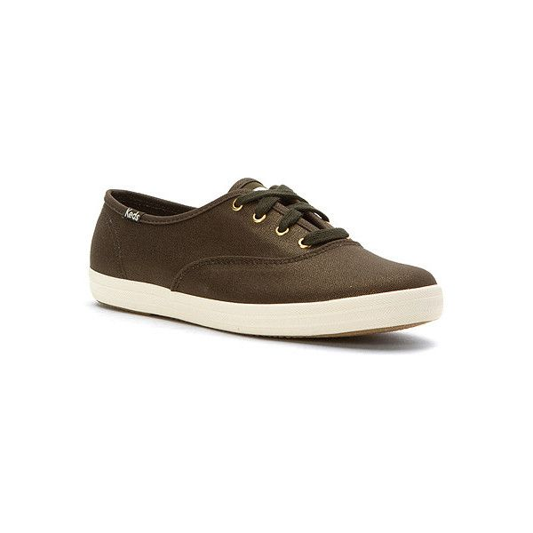 39b85bdc44203 Keds Champion Metallic Canvas ( 45) ❤ liked on Polyvore featuring shoes