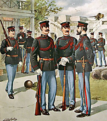 1902 US Army Uniforms | Military Uniforms and History | Us