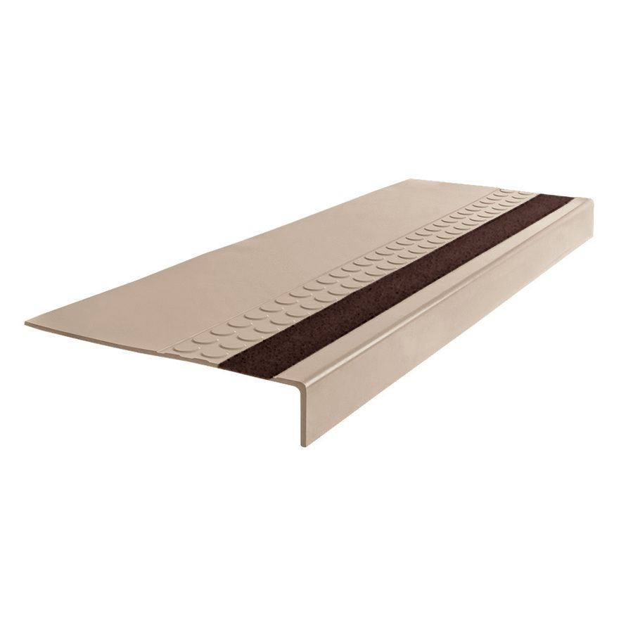 Flexco 575 Rubber Stair Tread 48 In Dune Rubber Stair Stringers In 2020 Stair Treads Stairs Stringer Stairs Design