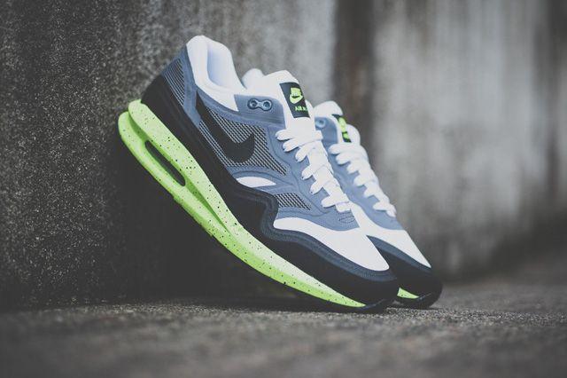 Nike Air Max 1 Essential (Cool GreyYellow) Sneaker Freaker