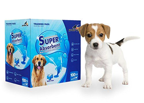 Gardner Pet Superabsorbent 22 By 22 Inches Dog Training Pads 100