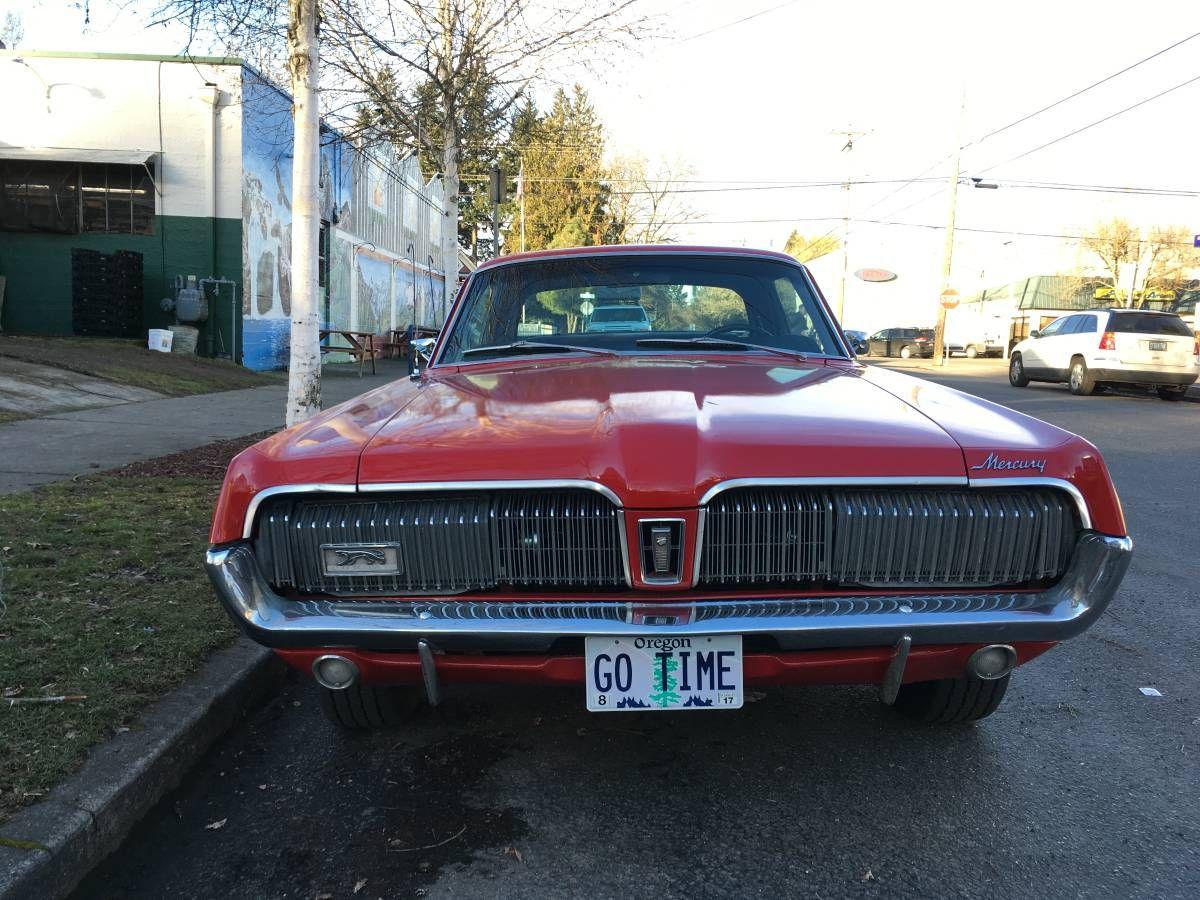 1968 mercury cougar xr 7
