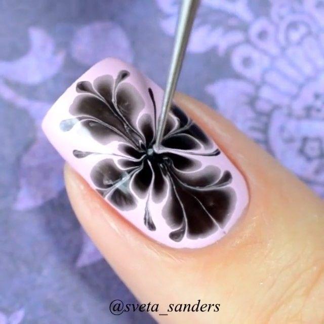 Non Water Marble Nails By Sveta Sanders She S So Good At