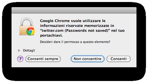 Le Indecisioni Di Chrome Utilizzato In Modalita Navigazione In Incognito Memorizzazione
