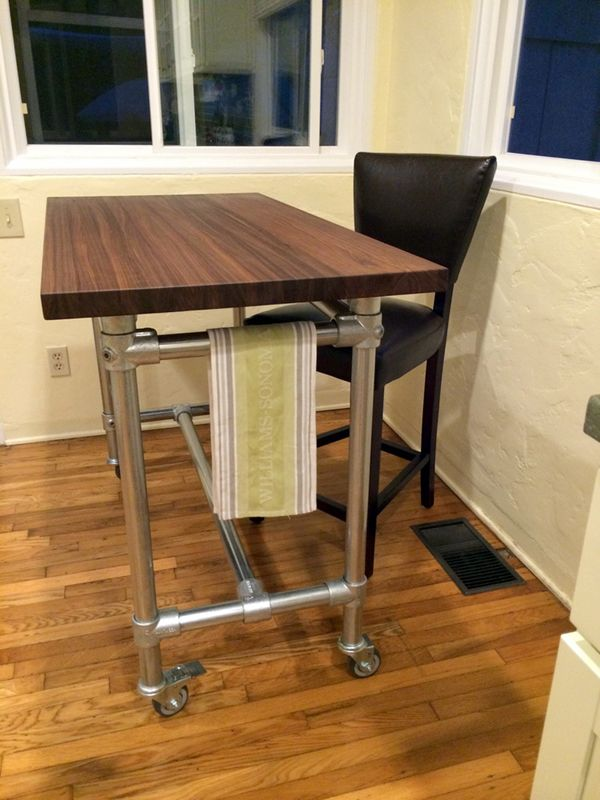 Kitchen Rolling Table Church Rolling Kitchen Island
