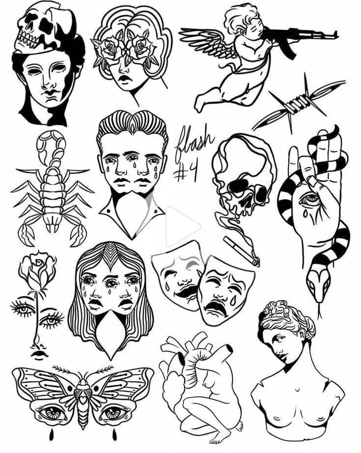 Top small Tattoo col